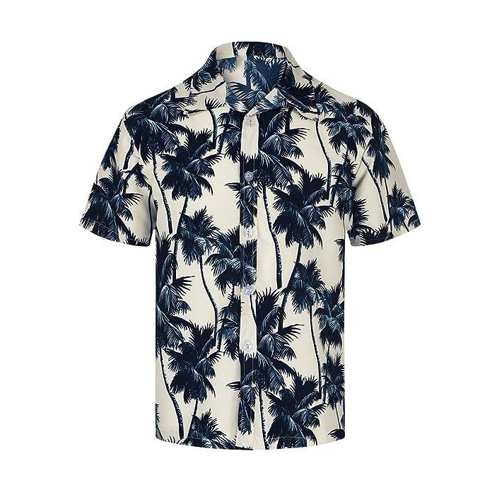 AMhomely Camisetas Tipo Polo para Hombre con Estampado ...