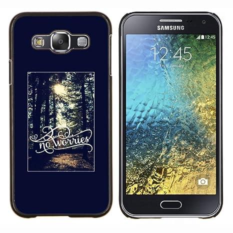 da2ce75be27 Snap-on Series Teléfono Carcasa Funda Case Caso para SAMSUNG Galaxy E5 / SM-