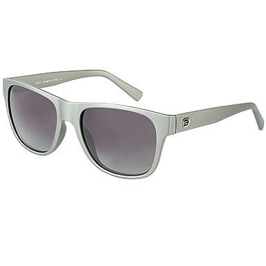 9e64836485 DUCO Classic Polarized Acetate Sunglasses for Men and Women UV400 2145  (Gunmetal Frame Gradient Grey