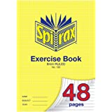 Spirax 100 A4 Exercise Book with 8MM Ruling (48 Pages)