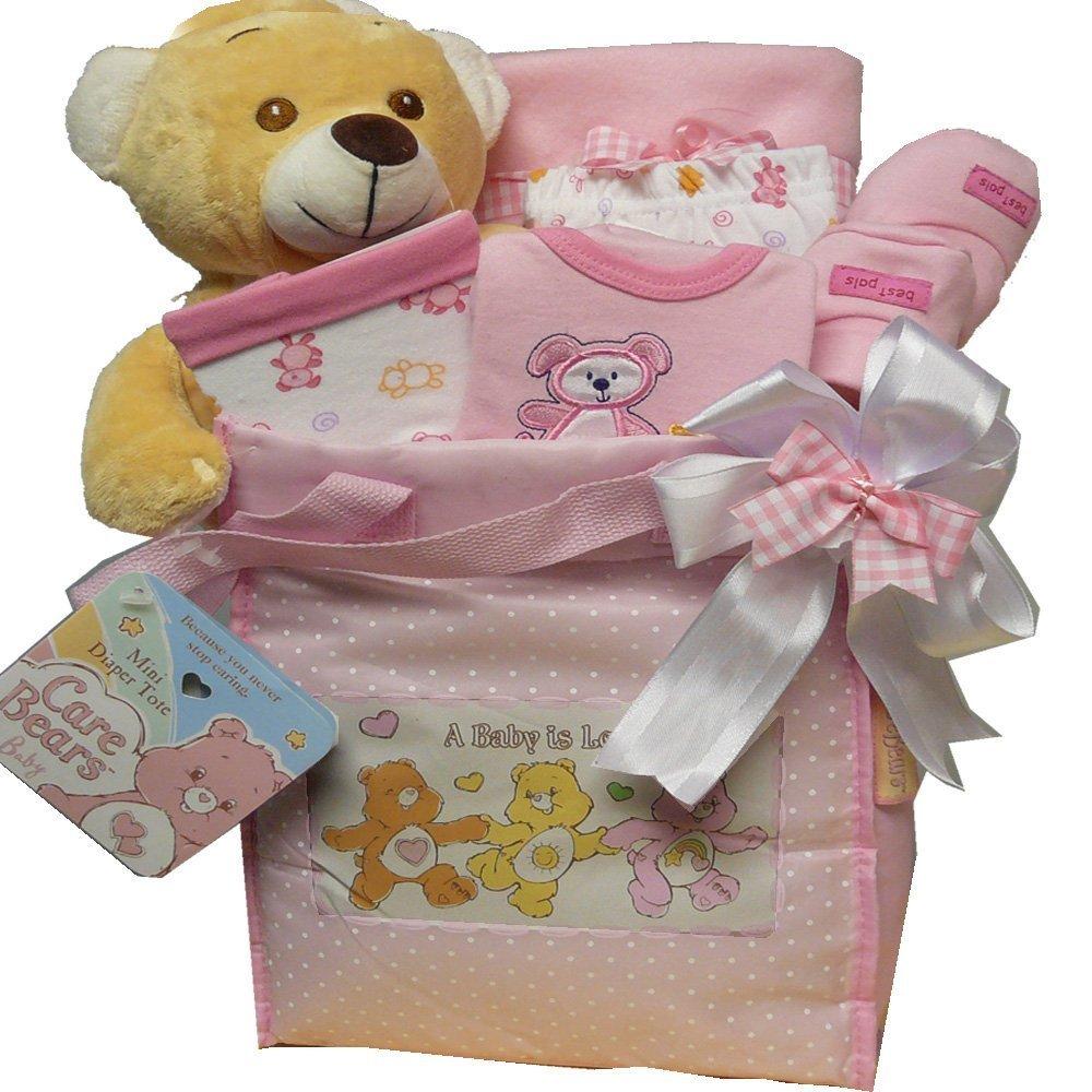 Art of Appreciation Gift Baskets Sweet Baby Diaper Bag-Girl
