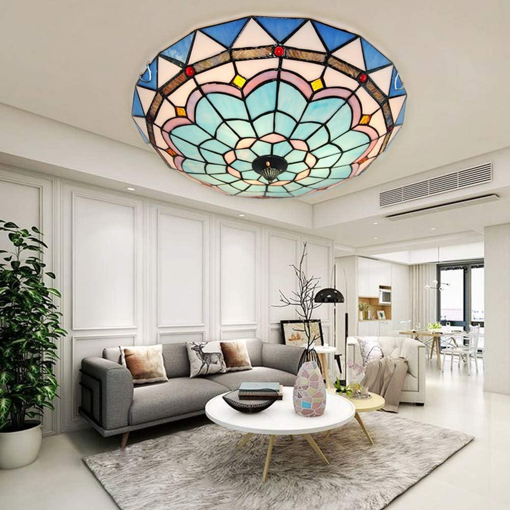 Handmade Multicolor 3 Light Pendent Light Glass Ceiling Lamp Chandelier for HotelLiving Room Decor