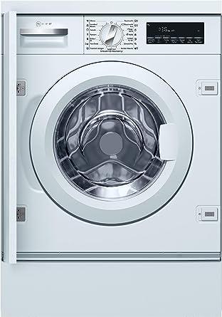 Neff W6440x0 Einbau Waschmaschine Frontlader A 137 Kwh Jahr 1400 Upm 8 Kg Weiss Anti Flecken Programme Amazon De Elektro Grossgerate