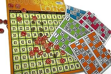 Cayro Loteria 48 De Madera: Amazon.es: Juguetes y juegos