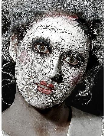 Halloween Schminke Bilder.Scary Skin Weiss Spezialeffekt Halloween Schminke Rissige Haut 56 75 G Amazon De Beauty