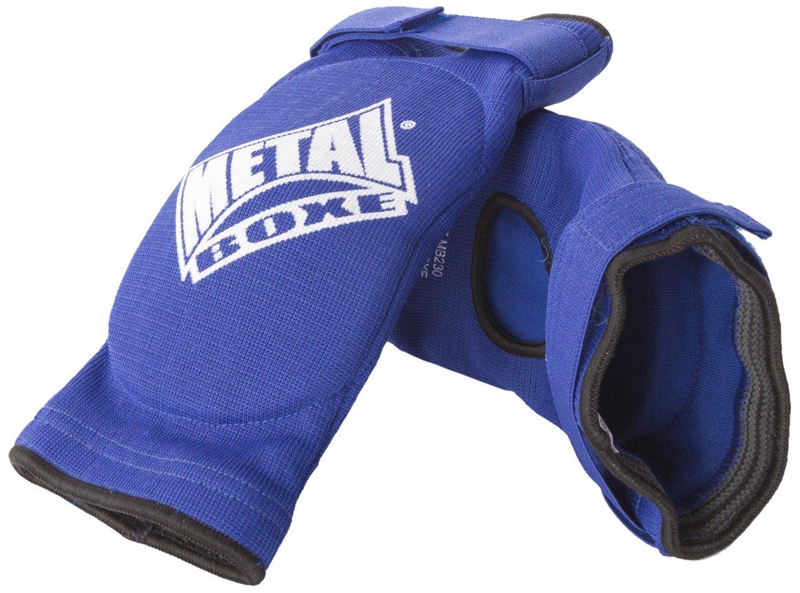 METAL BOXE Coudi/ères bleues ou rouges