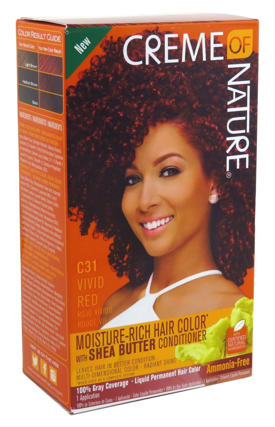 Creme Of Nature Color C31 Vivid Red Kit (2 Pack)
