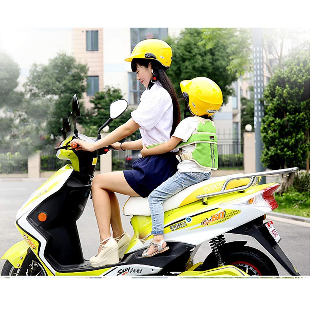 Cintura di Sicurezza Bambini Cinture Regolabile di Sicurezza per Moto,Auto Elettrica,Bicicletta