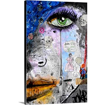 Loui Jover Premium Thick-Wrap Canvas Wall Art Print Entitled She is Well Aquainted 24