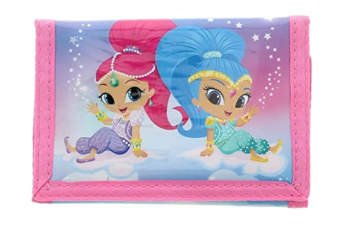 Shimmer and Shine Wallet Monedero, 13 cm, 23 Liters, Rosa ...