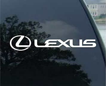 Amazoncom LEXUS Vinyl Car Decal Sticker  Vinyl Color - Lexus custom vinyl decals for car