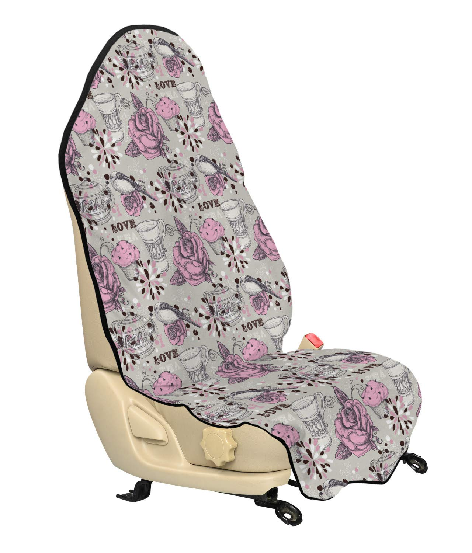 Enjoyable Automotive Pink Skull Car Seat Covers Sugar Skulls Day Of Machost Co Dining Chair Design Ideas Machostcouk