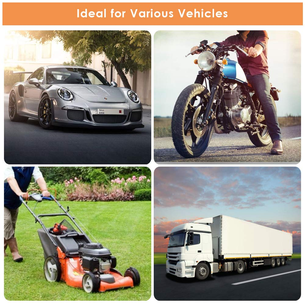 Gasoline Siphone Hose Fuel Transfer Pump with 2 Durable PVC Hoses Portable Widely Use Hand Fuel Pump KATUMO Gas Oil Water Fuel Transfer Siphon Pump