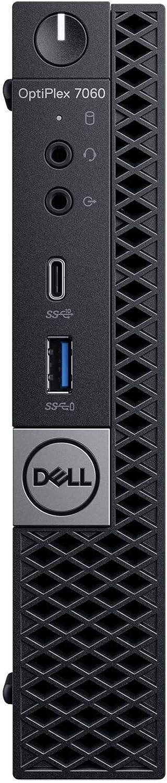 Dell OP7060MFFJW1Y4 OptiPlex 7060 Micro PC with Intel Core i7-8700T 2.4 GHz Hexa-core, 16GB RAM, 256GB SSD, Windows 10 Pro 64-bit (Renewed)