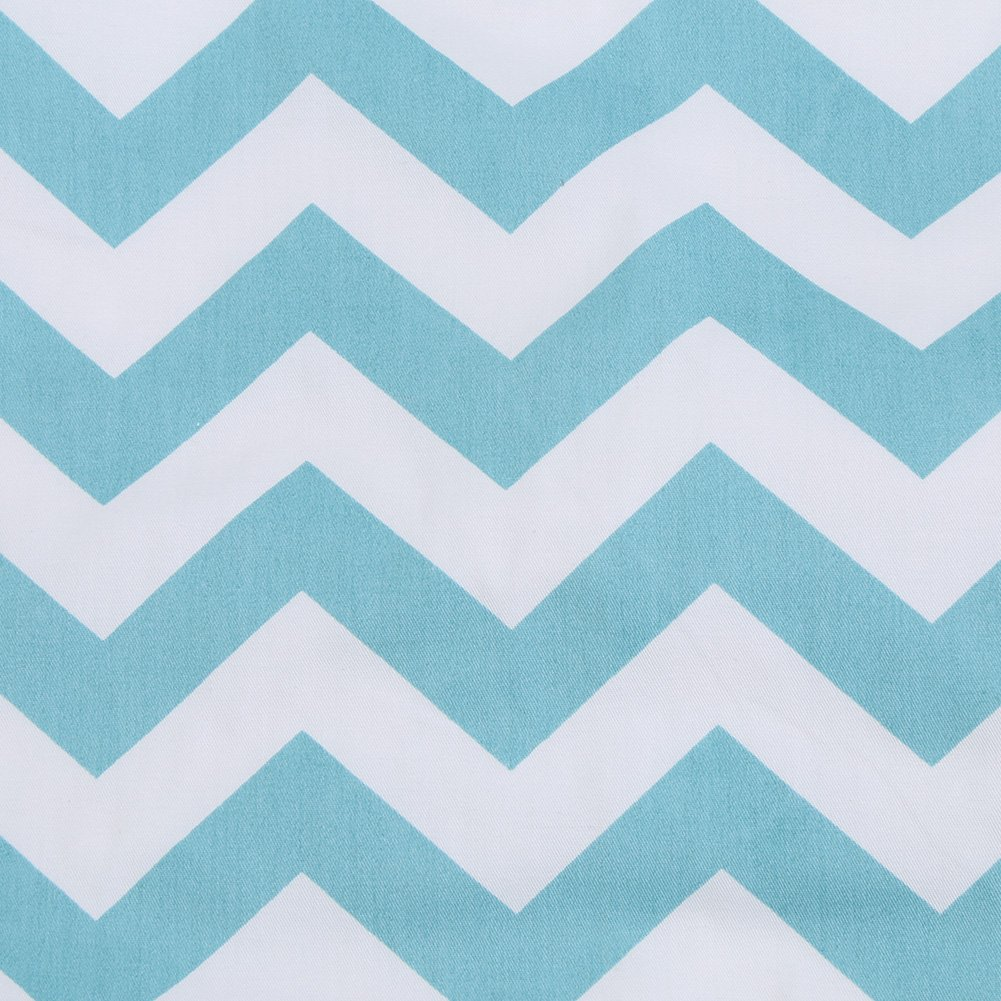 B/éb/é lit Matelas /à Langer 50x70 cm Pad Lavable Infantile Coton imperm/éable /à leau Couverture de Tapis Protecteur r/éutilisable lit dincontinence underpads Paradis Bleu//M #A