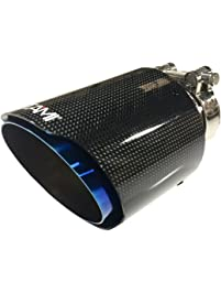 "NETAMI NT-3052 3"" Inlet Blue Carbon Fiber Exhaust"