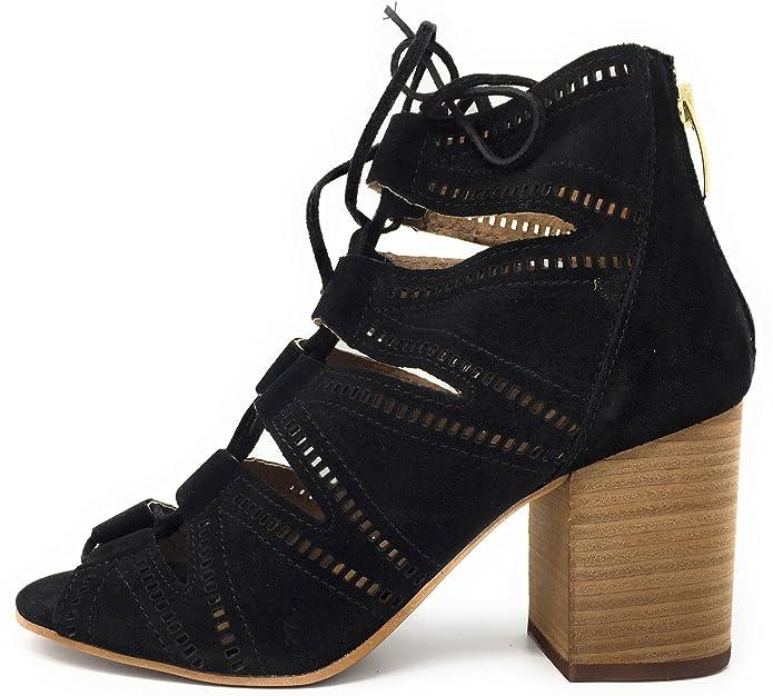 Alpe Team Botines 3246 1105, Botines Abiertos Mujer, 39: Amazon.es: Zapatos y complementos