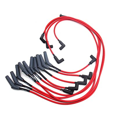 JBA W0950 Red Ignition Wire for Dodge Truck V10: Automotive