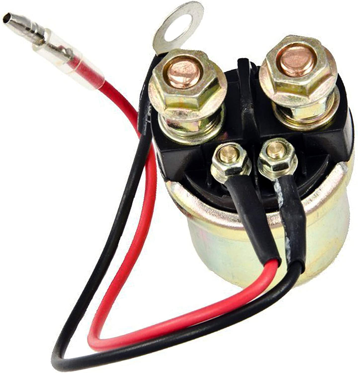 PROCOMPANY Starter Relay Solenoid Replaces FOR Yamaha 20 50 60 HP Outboard Boat Motor Engine 1989-UP 200 Horse Power Outboard 2002 OEM 6G1-81941-10-00