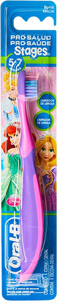 Escova Dental Oral-B Pro-Saúde Stages 3 Cars-Princesas