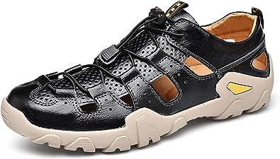 Honeystore Men's Plus Size Leather