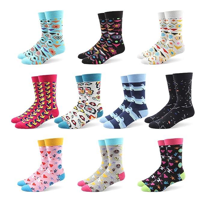 Calcetines De Algodón Calientes De Rayas Y Moda Para Hombre-Disponibles En Varios Colores ,