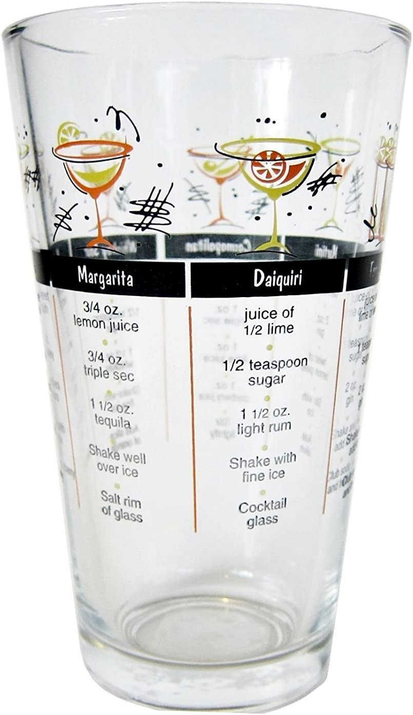 16.2 Ounce Classic Cocktail Recipe Glass
