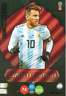 Adrenalyn XL FIFA World Cup 2018 Rusia – Lionel Messi tarjeta de comercio de edición limitada