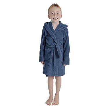 CityComfort Toalla para niños, niños, niñas, niñas, niñas, con Capucha, toallero, Albornoz, 100% algodón, Toalla, tocador, Bata, toallero, Suave, salón, ...