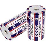 7dayshop D Cell HR20 High Performance NiMH Rechargeable Batteries 3000mAh - 2 Pack