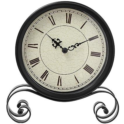 Exceptionnel Classic Retro Clock, Vintage Iron Desk Clock Decorative Kitchen Table Clock  European Style Vintage Silent