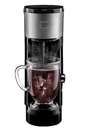 Chefman RJ14-SKG-IR Independiente Totalmente automática Máquina de café en cápsulas Negro -
