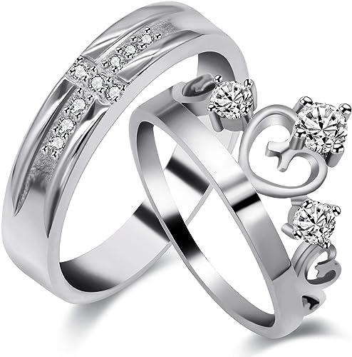 Couples Promise Ring Set Wedding Rings Men Promise Ring Promise Rings For Couples Tungsten Rings His And Her Promise Ring Promise Ring