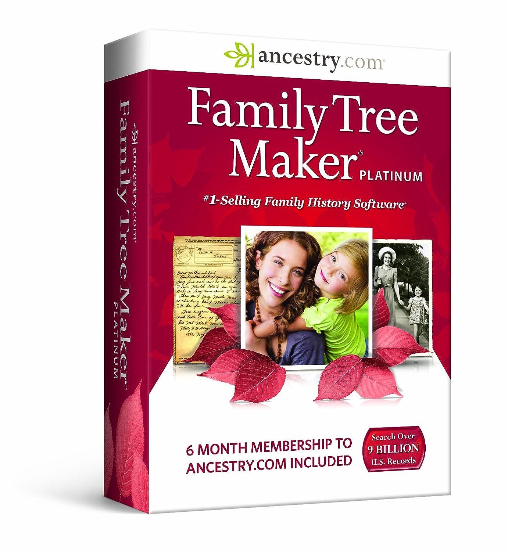 Amazon.com: Family Tree Maker, Platinum: Software