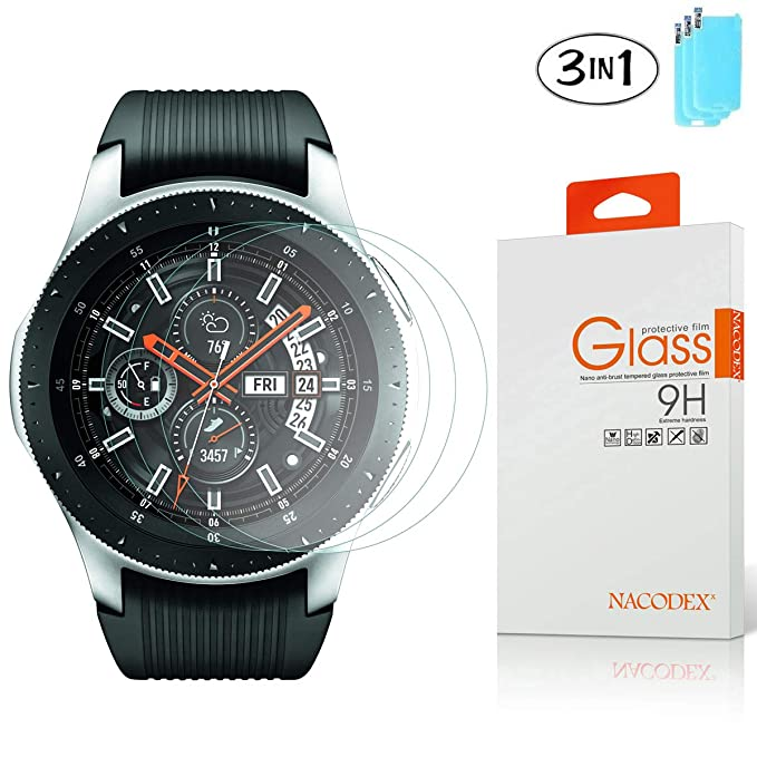 Amazon.com: [3 Pack] Samsung Galaxy Watch (46mm) Screen ...