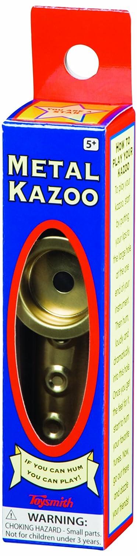 Toysmith Metal Kazoo (4.75-Inch) 8055