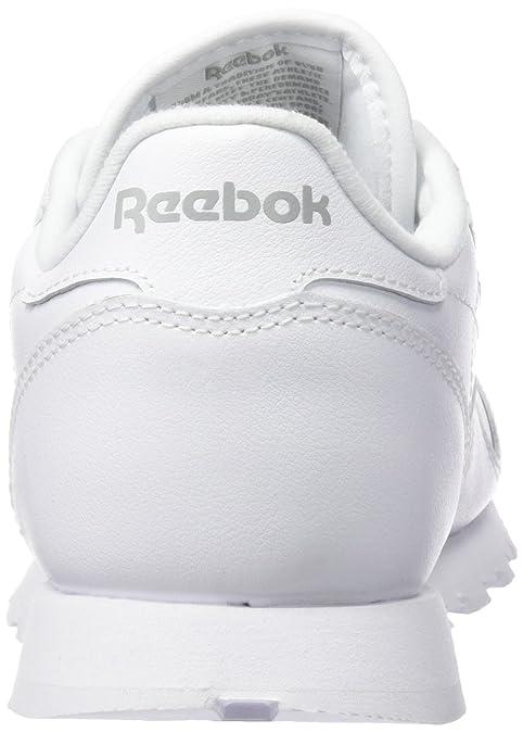 CL LTHR, chaussures de sport femme -ecru/navy (NA), 37 EUReebok