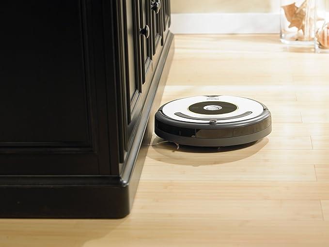 iRobot Roomba 621 - aspiradoras robotizadas (Negro, Gris, Color blanco, 0,7L, 40 m²/h, Alfombra, Laminate, Linoleum, Parquet, 34 cm): Amazon.es: Hogar