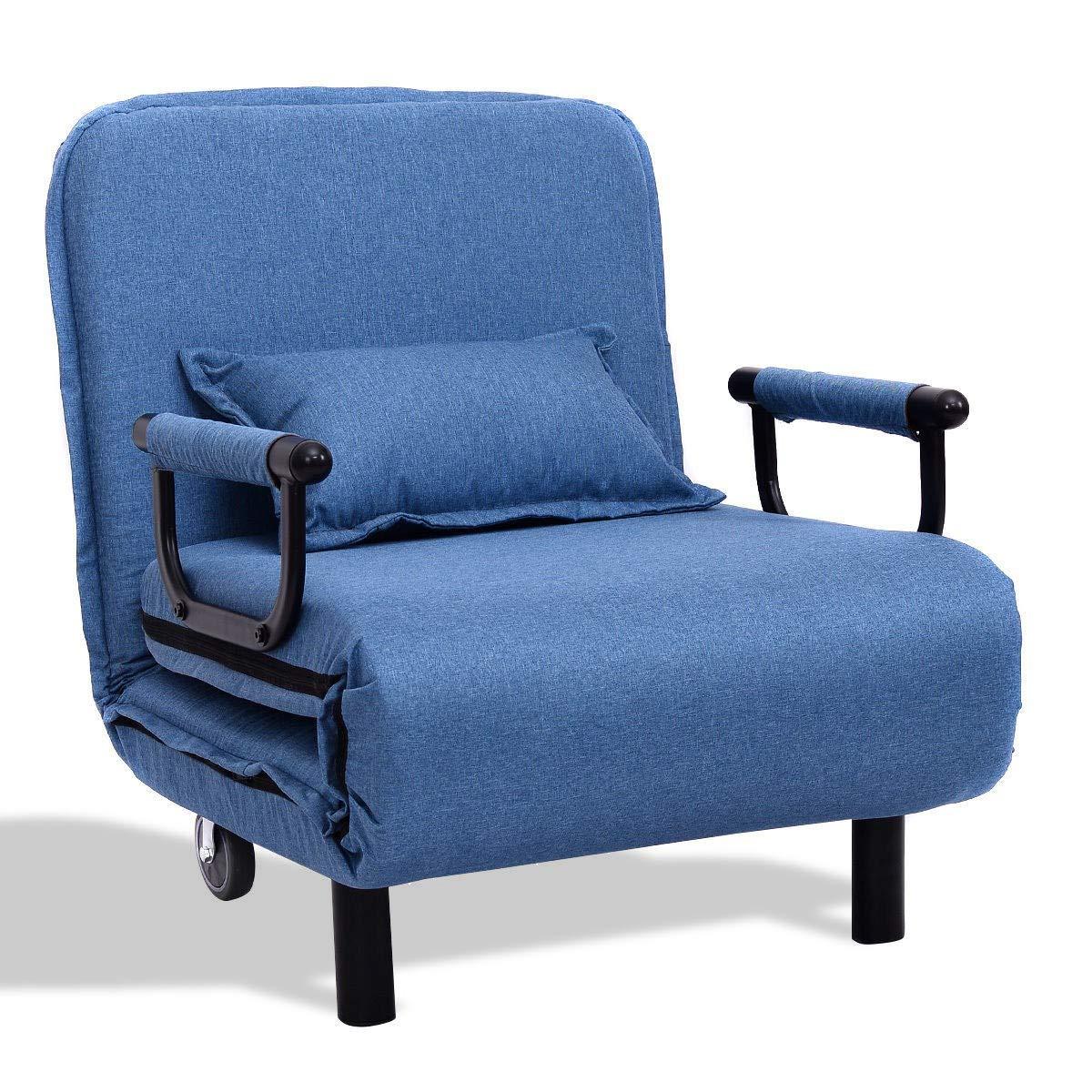 Amazon.com: Sofá cama convertible plegable 3 en 1 ...
