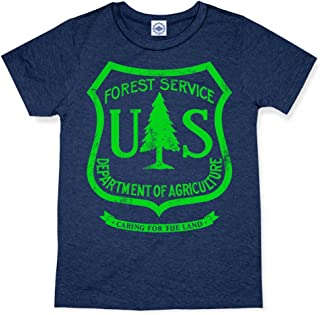 product image for Hank Player U.S.A. US Forest Service Kid's T-Shirt