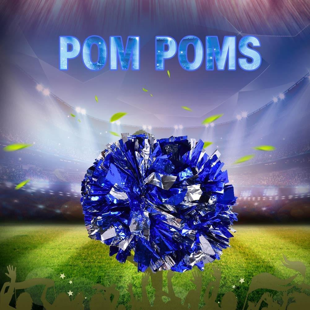 vbestlife 2 pack cheerleading pompoms cheering squad spirited fun
