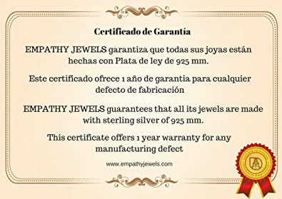 230569ece934 EMPATHY JEWELS Collares Plata Mujer Joven