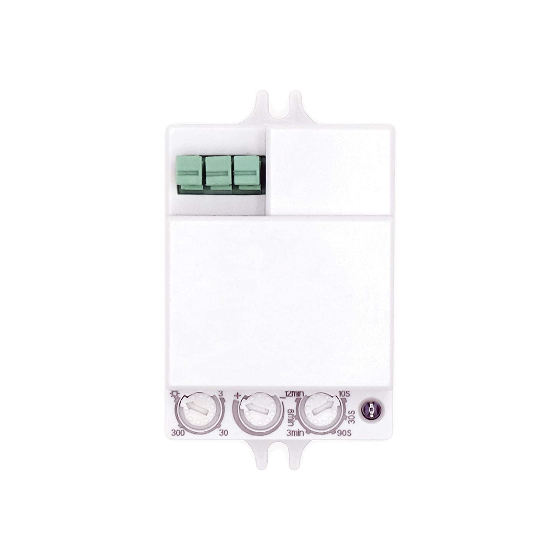 Popp Detector Movimiento por MICROONDAS. Blanco(SM-001)