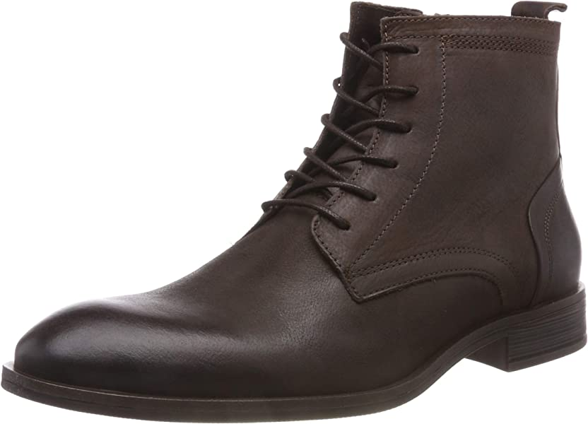 Bianco Laced Up Boot - Botines Hombre