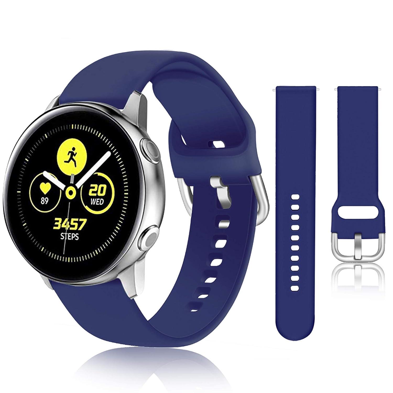 Malla Para Reloj Galaxy Watch Active 40mm (azul)