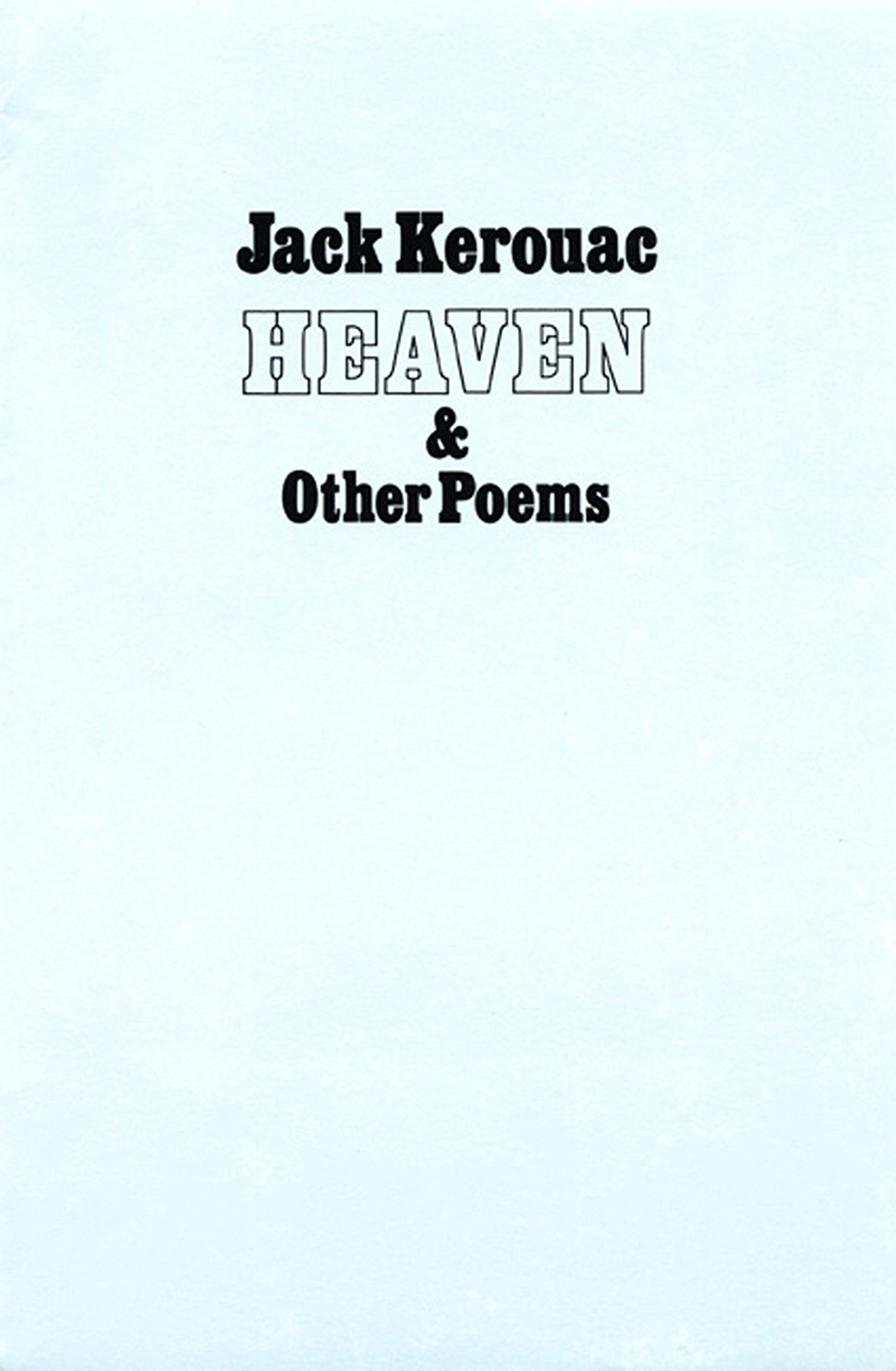 Download Heaven and Other Poems PDF