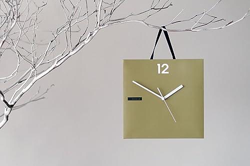 ArtesignLab Paperbag Clock Vintage Olive 17