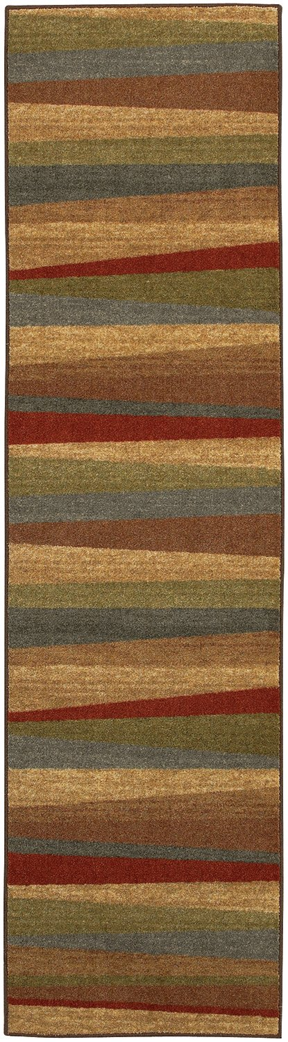 Mohawk New Wave Mayan Sunset Sierra 2'x8' Area Rug 10482 453 024096