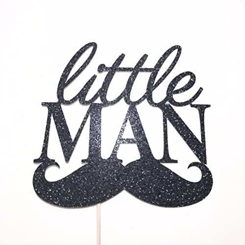 Amazoncom Little Man Cake Topper Little Man Topper Baby Boy