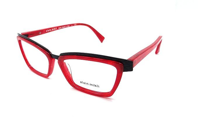 a3c7e2fdb1 Amazon.com  Alain Mikli Rx Eyeglasses Frames A02015 1055 53x15 Pearl ...